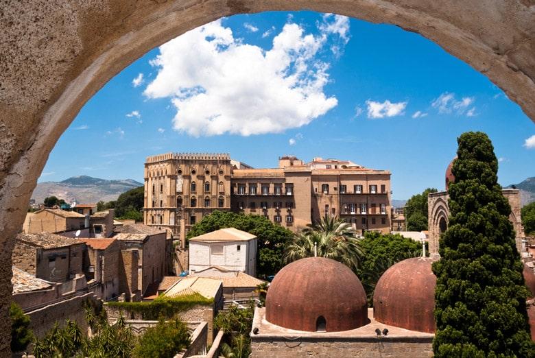 Palazzo dei Normanni e Cappella Palatina á Sicile