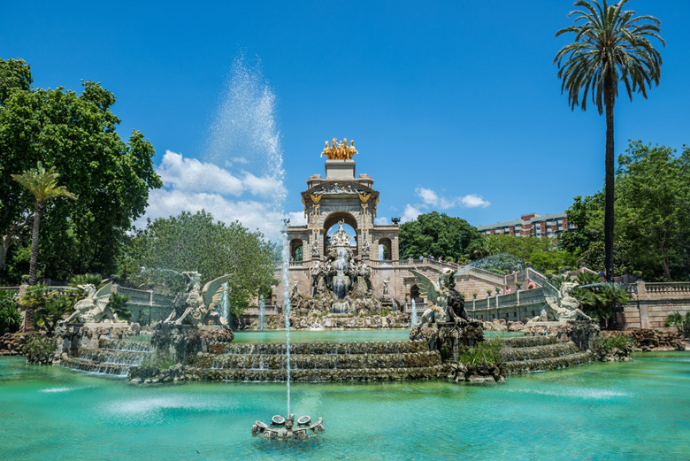 Le Parc de la Ciutadella á Barcelone