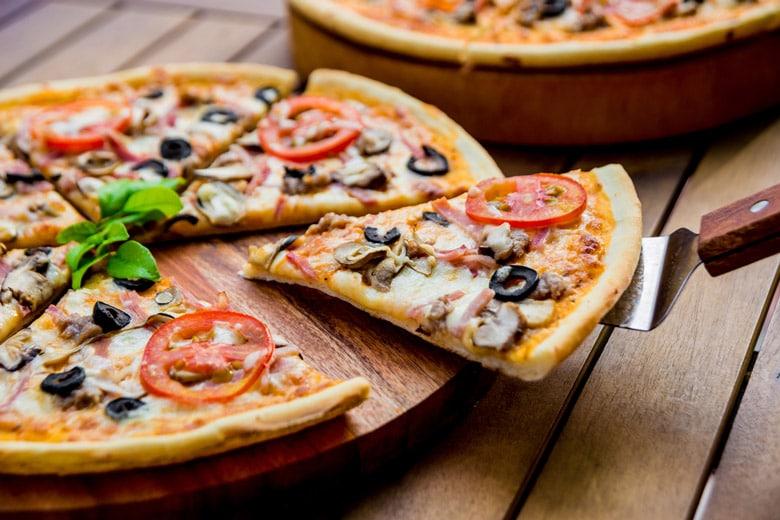 Pizza Napoletana á Naples