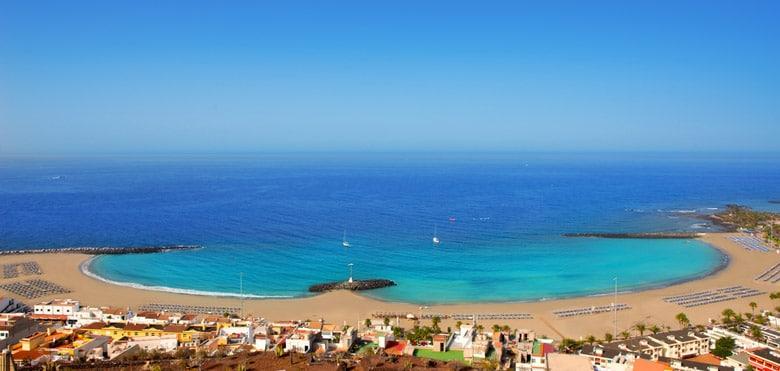 Playa de las Vistas á Tenerife