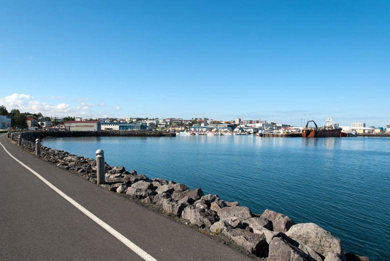 Port de Hafnarfjordur á Reykjavik