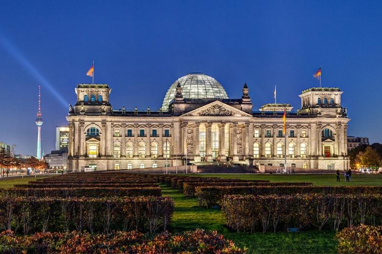 Le Palais du Reichstag á Berlin