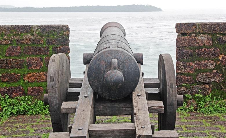Reis Magos Fort á Goa