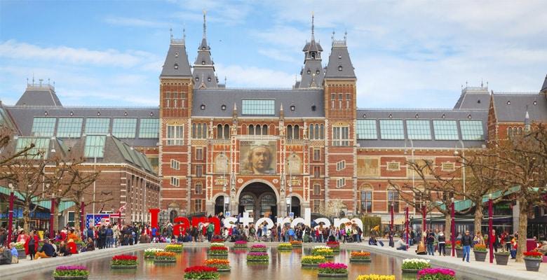 Le Rijksmuseum á Amsterdam