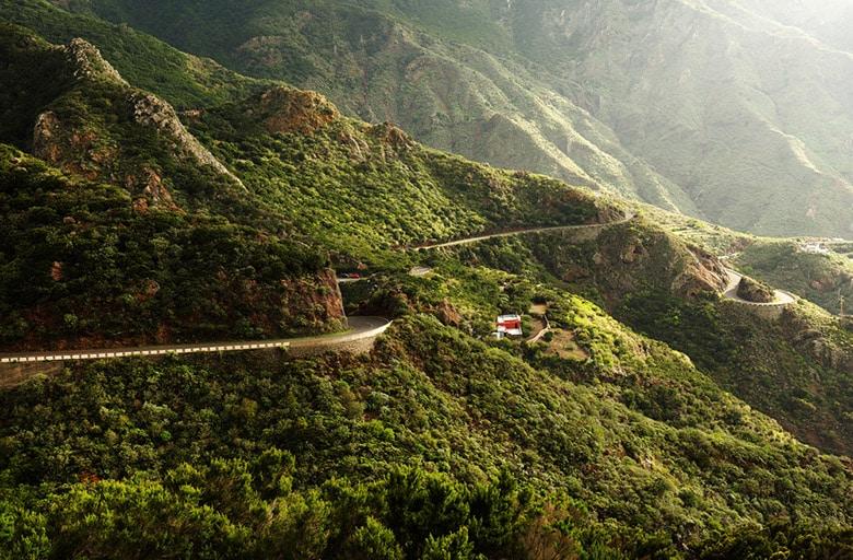Las Montanas de Anaga á Tenerife