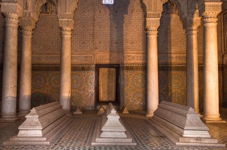 Les Tombes Sadiennes á Marrakech