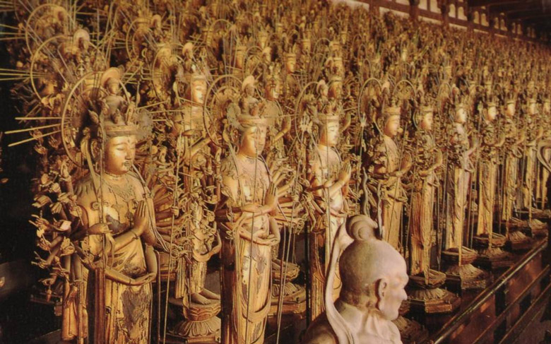 La Salle Sanjusangen-do á Kyoto