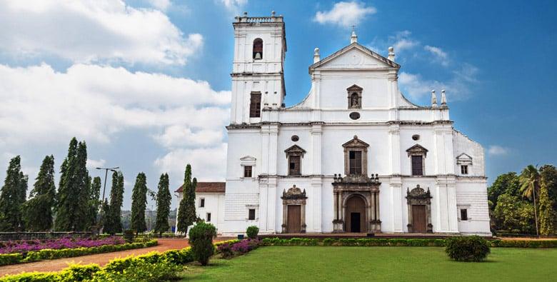 Cathédrale Sainte-Catherine á Goa