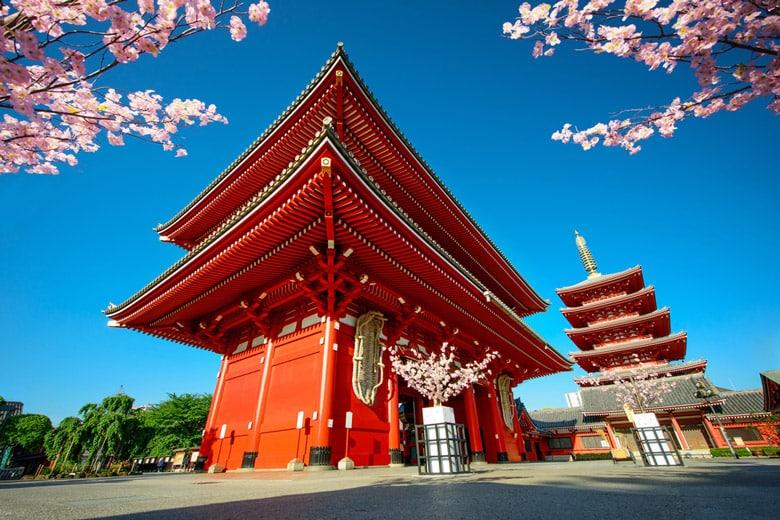 Temple Senso-ji á Tokyo