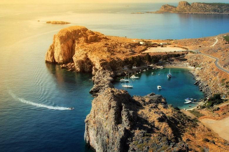 La Baie de Saint Paul á Rhodes