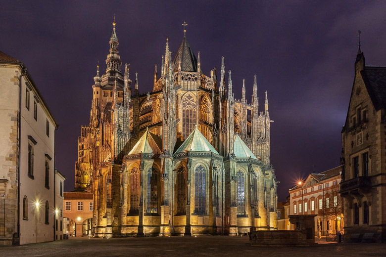 Cathédrale Saint-Guy á Prague