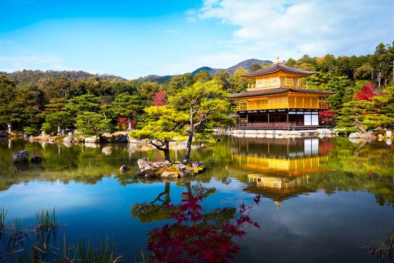Le Temple du Pavillon d'Or á Kyoto