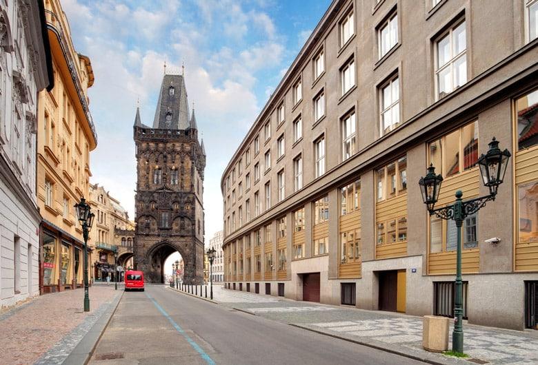 La tour poudrière á Prague