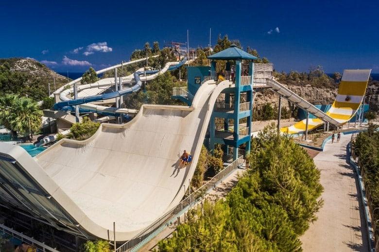 Le Parc Aquatique WaterPark á Rhodes