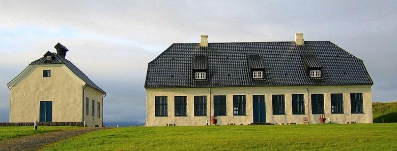 Videy Island á Reykjavik