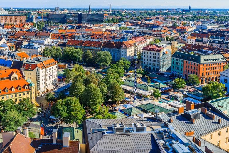 Viktualienmarkt á Munich