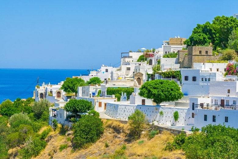 Le Village de Lindos á Rhodes