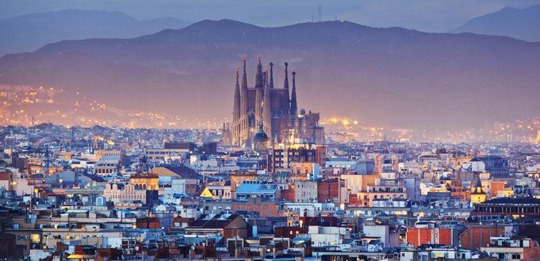 Sagrada Familia á Barcelone