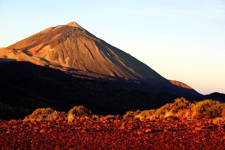 Volcan El Teide á Tenerife