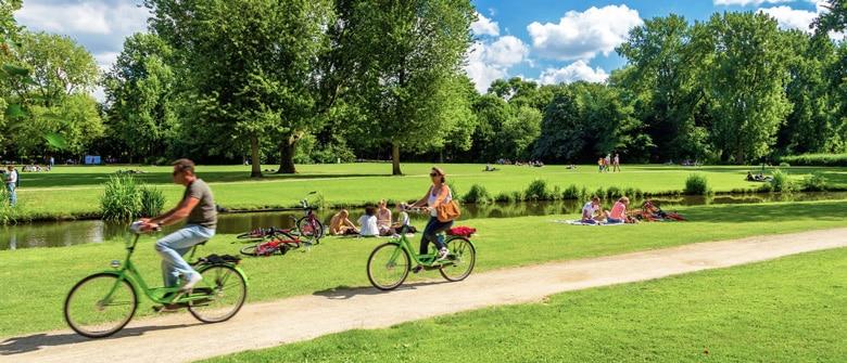 Vondelpark á Amsterdam