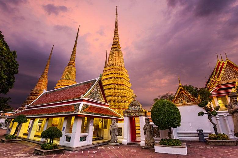 Wat Pho á Bangkok