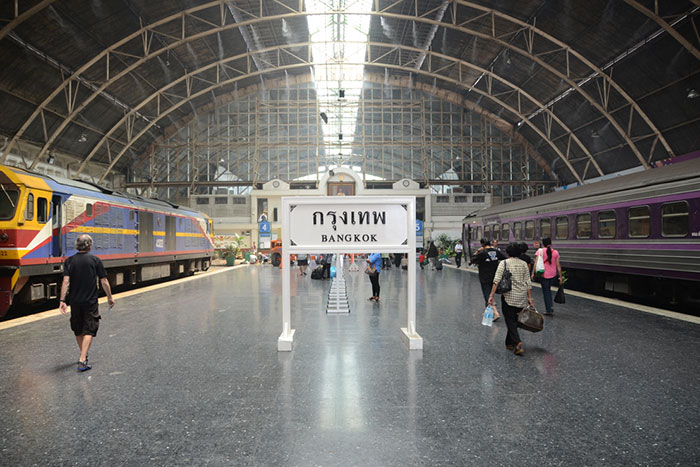 Gare de Hua Lamphong à Bangkok