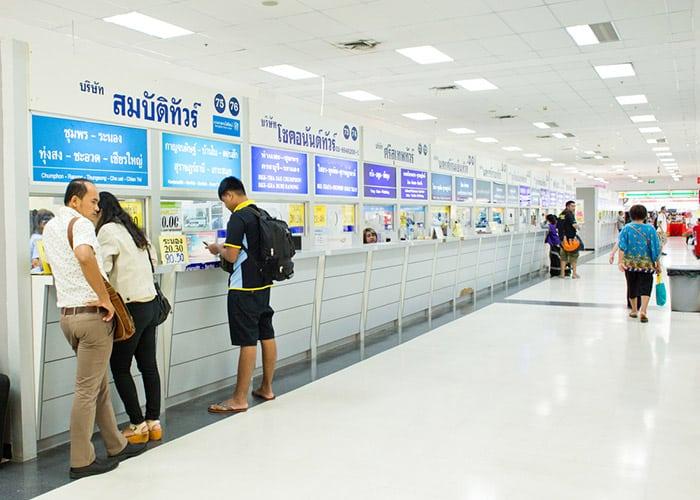 Southern Bus Terminal (Sai Tai Mai) à Bangkok