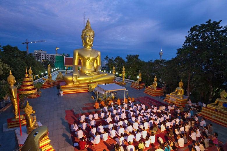 Le Grand Bouddha á Pattaya