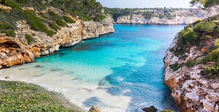 Calo des Moro á Majorque