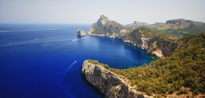 Cap de Formentor á Majorque