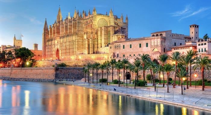 Cathédrale de Palma á Majorque