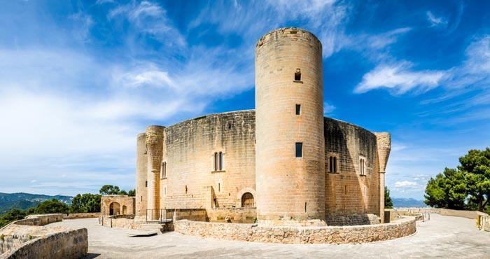 Château de Bellver á Majorque