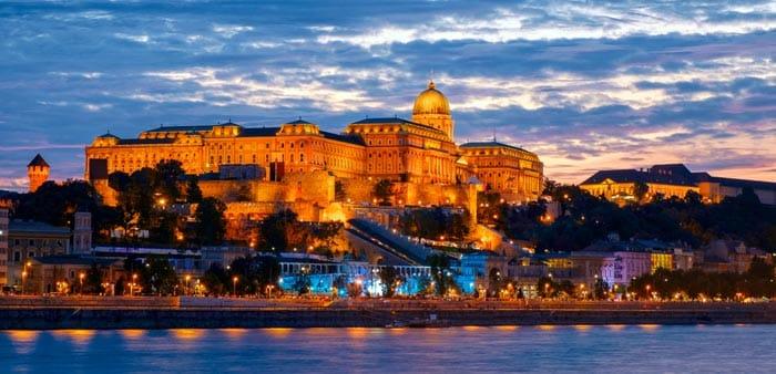 Colline du château á Budapest
