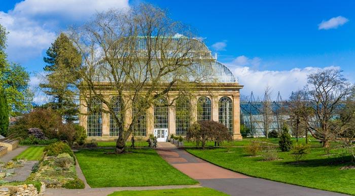 Jardin botanique royal á Édimbourg