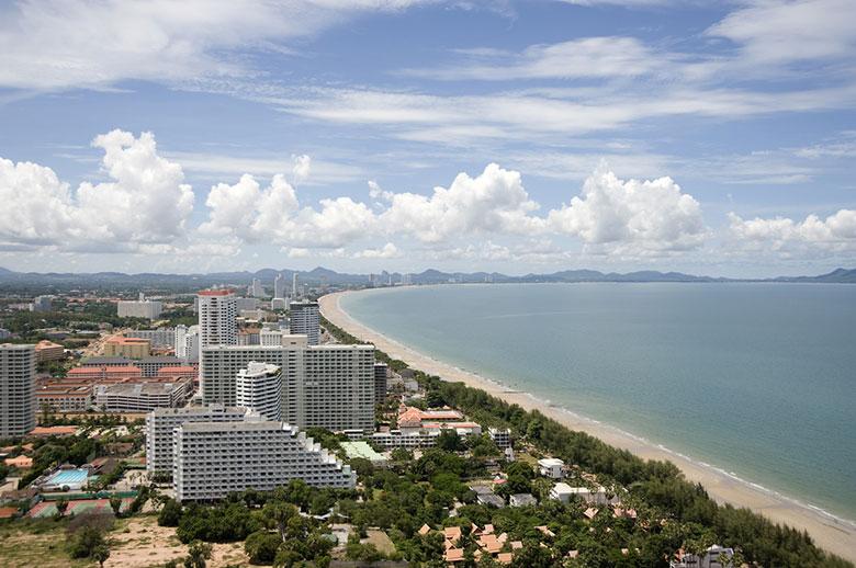 La Plage Jomtien á Pattaya