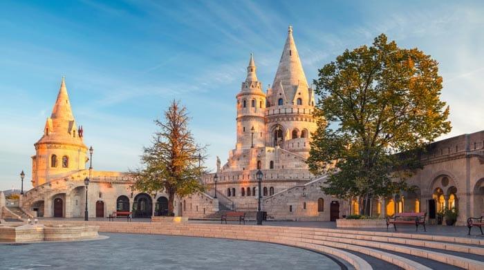 Le Bastion des pêcheurs á Budapest