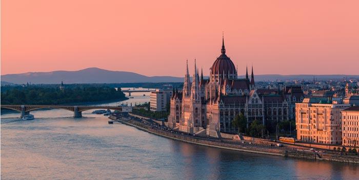 Le Danube á Budapest