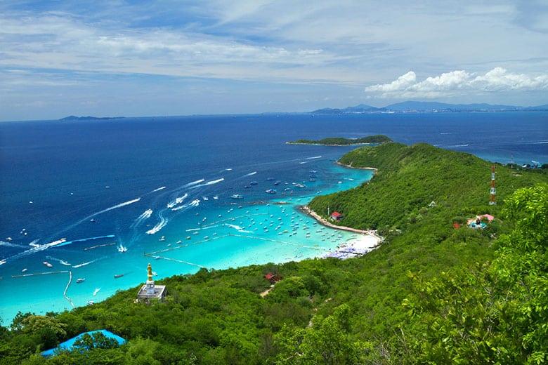 L'île coralienne á Pattaya