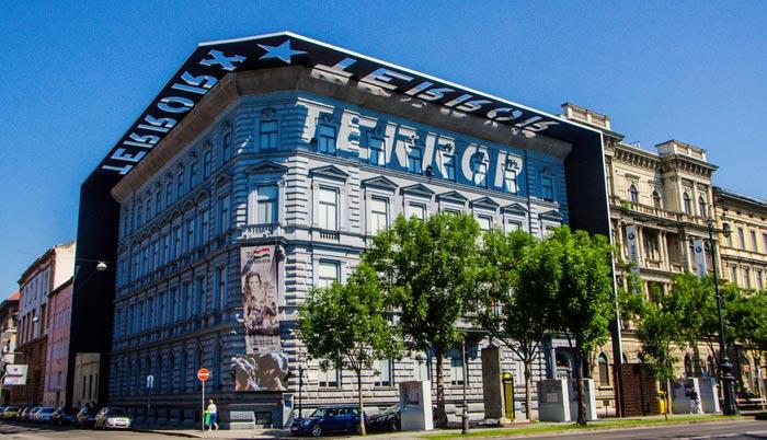 Musée de la Maison de la terreur á Budapest