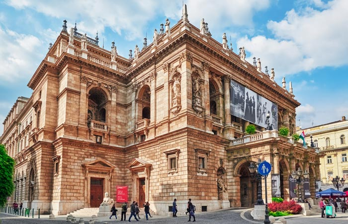 Opéra d'État hongrois á Budapest