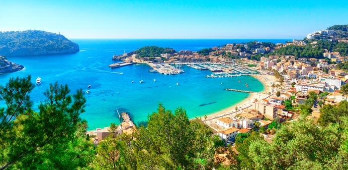 Puerto de Soller á Majorque