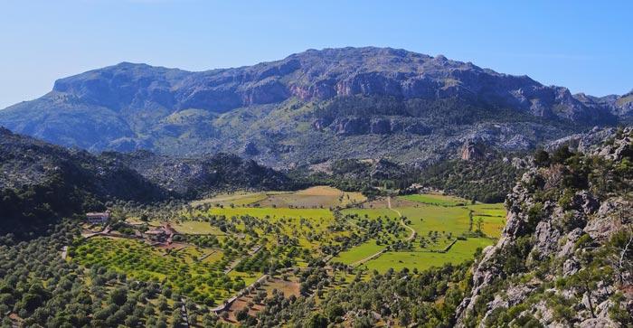 Serra de Tramuntana á Majorque