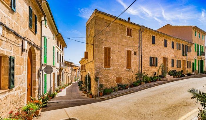 Vieille ville d'Alcudia á Majorque