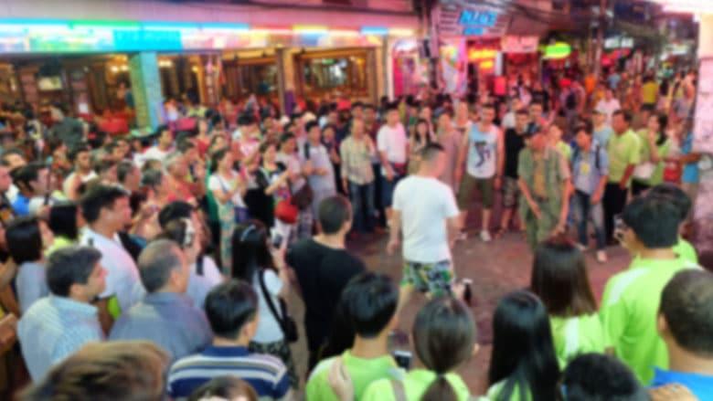 Walking Street á Pattaya