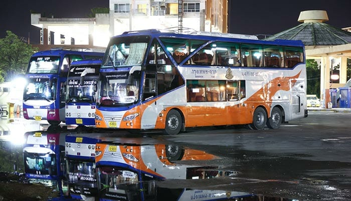 Bus de la compagnie gouvernementale thaïlandaise de bus