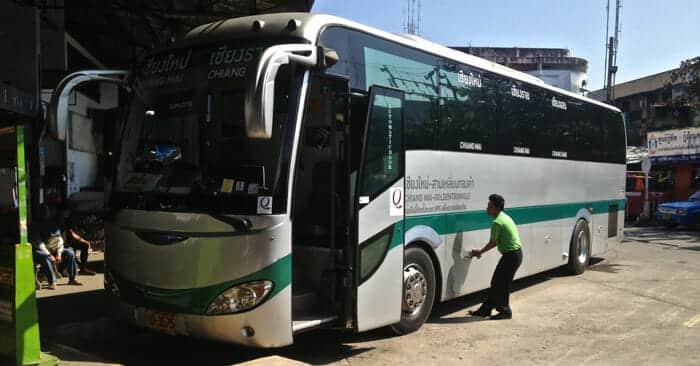 Bus de Chiang Mai à Chiang Rai