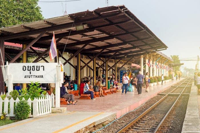 De Ayutthaya à Chiang Mai en train