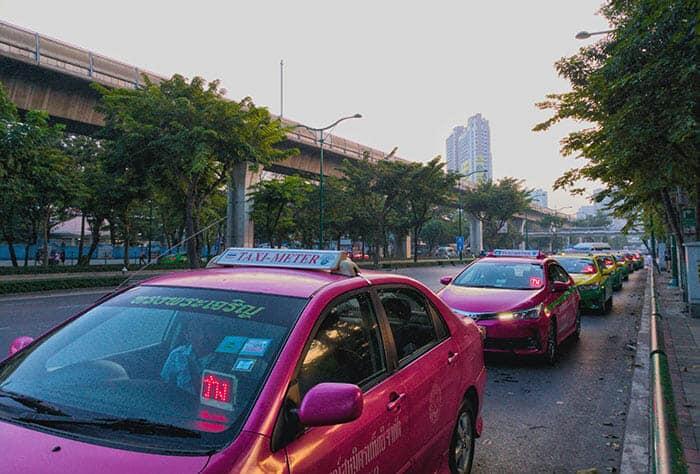 Taxi privé de Bangkok à Chumphon