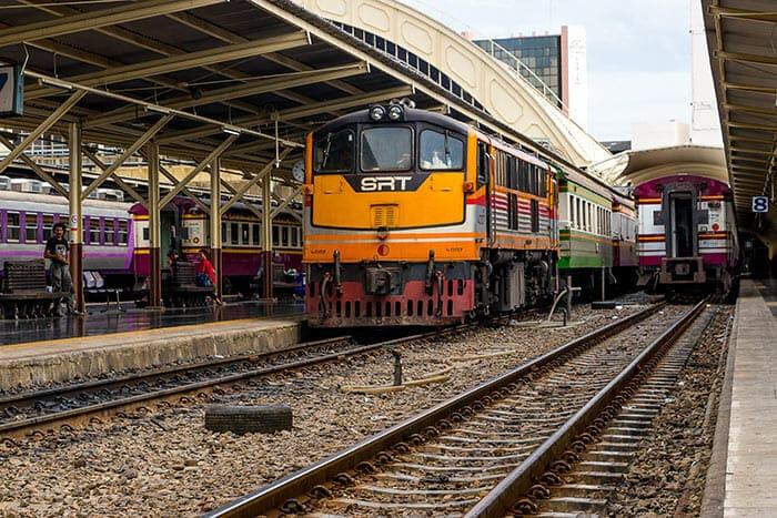 De Bangkok à Chumphon en Train