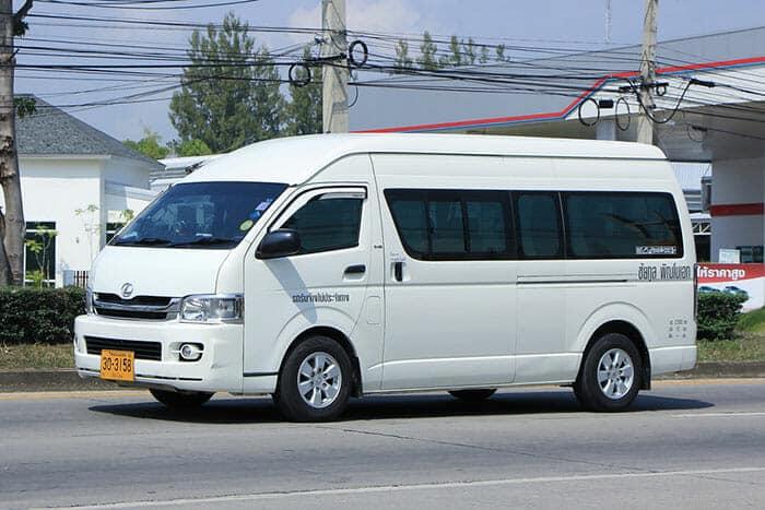 Bus public et minibus de Bangkok à Koh Chang